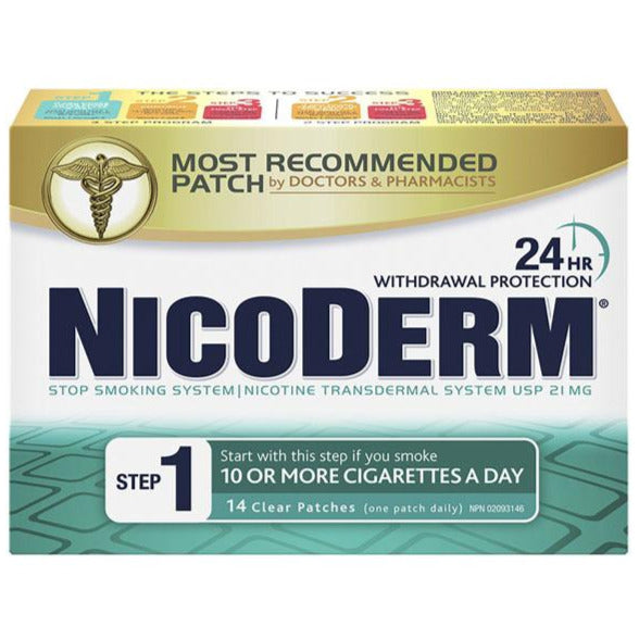 Nicoderm Stop Smoking System STEP 1 21 mg
