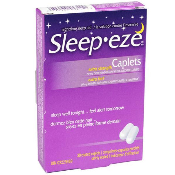 Sleep-eze Extra Strength Caplets