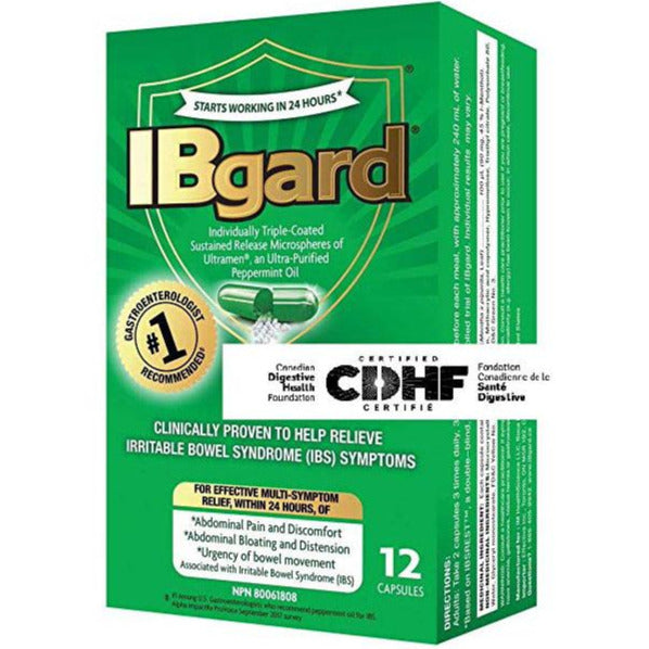 IBgard for Irritable Bowel Syndrome