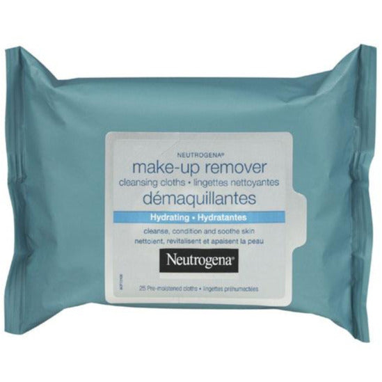 Neutrogena Make-up Remover Cleansing Wipes - Hydrating