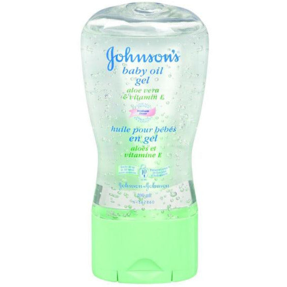 Johnson's Baby Oil Gel with Aloe Vera & Vitamin E