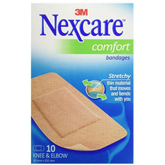 3M Nexcare Comfort Strip Knee & Elbox Bandages - 5 cm x 10 cm