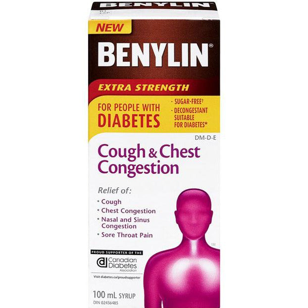 Benylin Cough & Chest Congestion for People with Diabetes