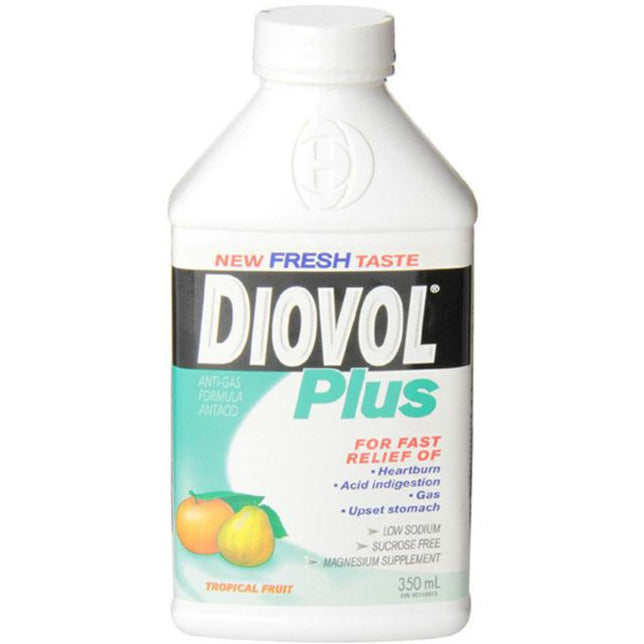 Diovol Plus Liquid - Tropical Fruit
