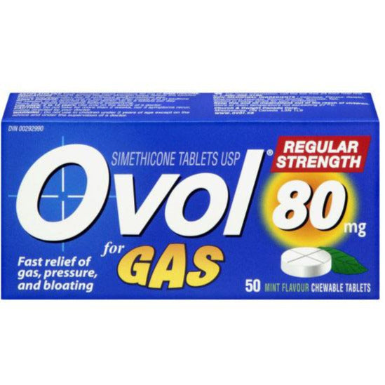 Ovol Regular Strength Chewable - Mint