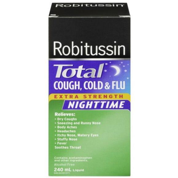 Robitussin Total Cough, Cold & Flu Extra Strength Nighttime