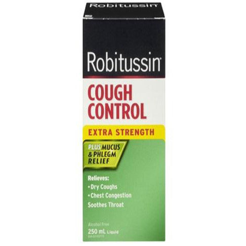 Robitussin DM Cough Control Extra Strength