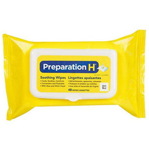 Preparation H Soothing Wipes with Aloe & Witch Hazel