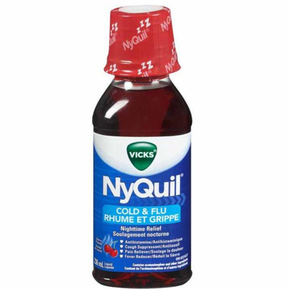 Vicks NyQuil Cold & Flu Multi-Symptom Relief Liquid - Cherry