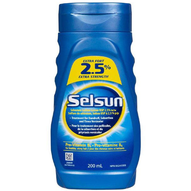 Selsun Blue Extra Strength 2.5%