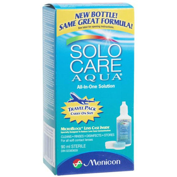 Solo Care Aqua All-in-One Solution Travel