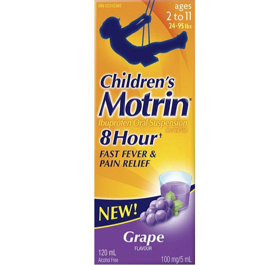 Children's Motrin Suspension - Grape
