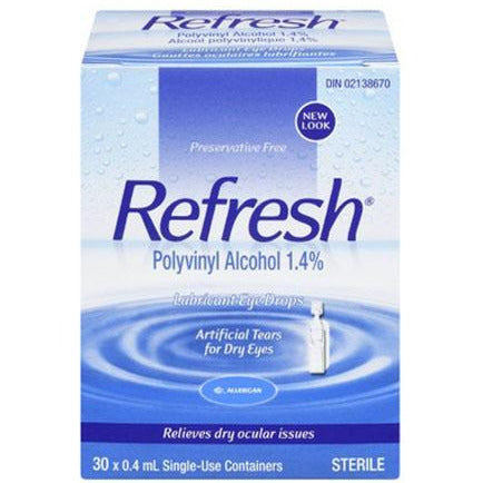 Refresh Lubricant Eye Drops - Preservative Free