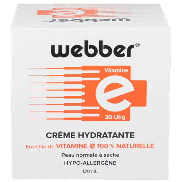 Webber Vitamin E Moisture Cream Jar