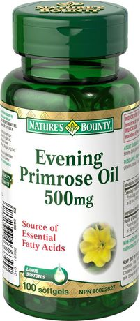 Nature's Bounty Evening Primrose Oil 500 mg