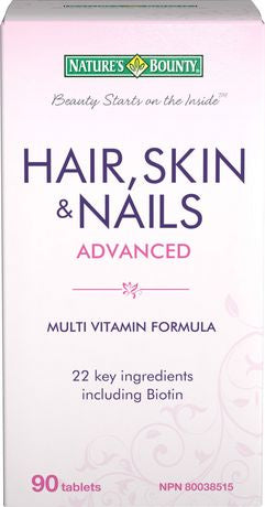 Nature's Bounty Hair, Skin & Nails Advanced with Biotin