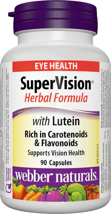 Webber Naturals SuperVision with Lutein Herbal Formula