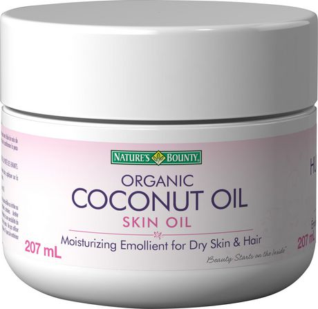 Nature's Bounty Coconut Oil, Moisturizing Emollient For Dry Skin and Hair