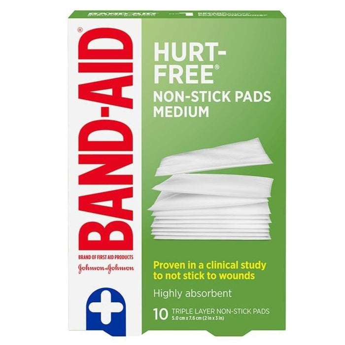 Johnson & Johnson First Aid Non-Stick Medium Pads