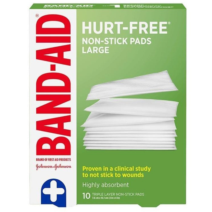 Johnson & Johnson First Aid Non-Stick Large Pads