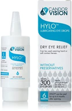 HYLO Lubricating Eye Drops - Preservative Free