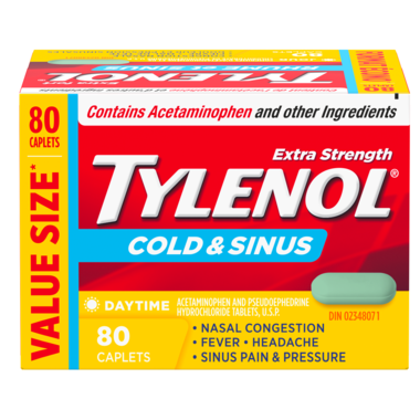 Tylenol Cold & Sinus Extra Strength Daytime