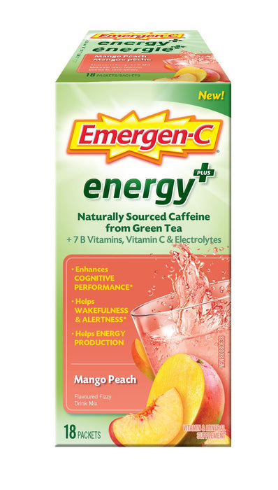 Emergen-C Energy+ Mango Peach
