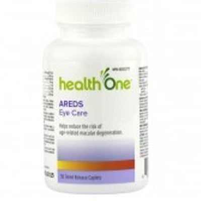 Health ONE Areds Eye Care Timed-Release with Lutein