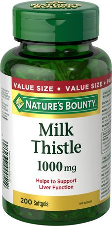 Nature's Bounty Milk Thistle 1000 mg