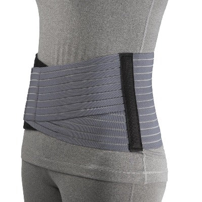 "Ea/1 Otc 7"" Lightweight Elastic Medium Lumbosacral Support Medium (33-36"" Hip) Grey Latex-Free"