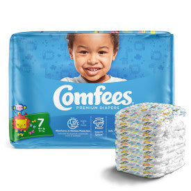 Comfees Baby Diapers - Size 7