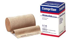 Bx/1 Comprilan Short Stretch Compression Bandage 6Cm X 5M