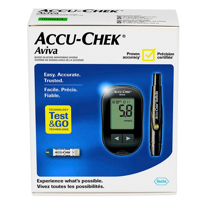 Accu-Chek Aviva Blood Glucose Meter and Lancing Device