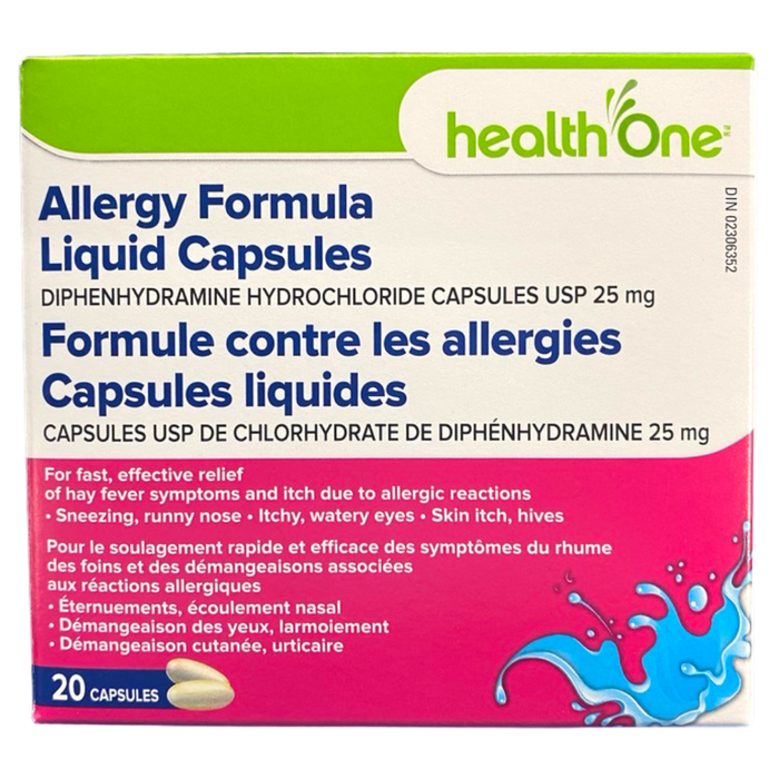 Health ONE Allergy Formula