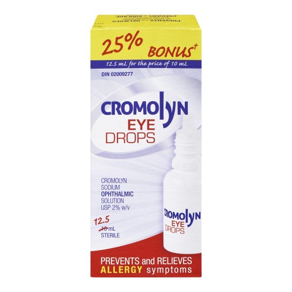 Cromolyn Eye Drops