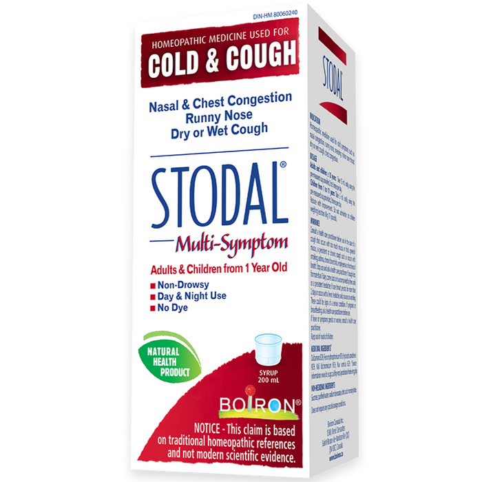 Stodal Adults Multi-Symptom Cold & Cough