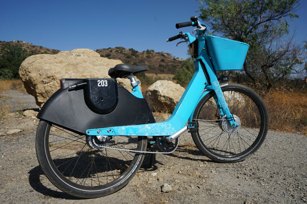The ScootDepot Pegasus 1 E-Bike! The World's Lowest Carbon Refurbished Electrical Bicycle.