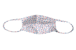 J + H Signature Pink Lemons Print Adjustable Mask