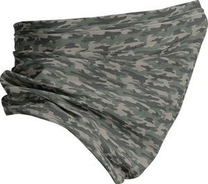 J + H Signature Camo Print Neck Buff