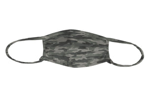 J + H Signature Print Camo Adjustable Mask