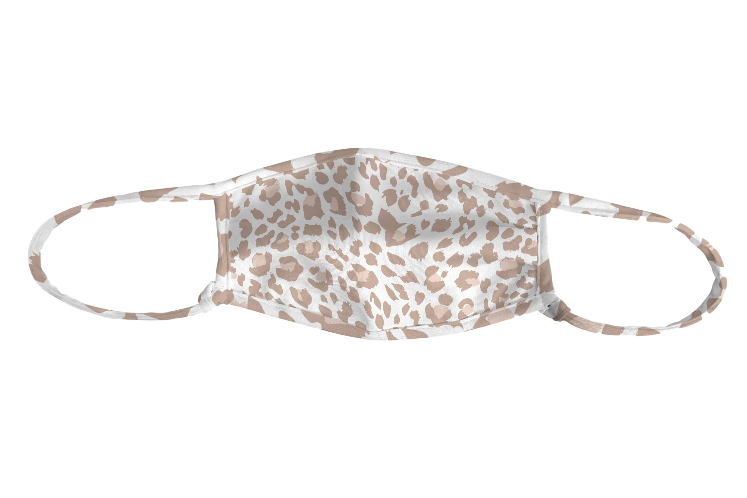 Snow Leopard Adjustable Mask