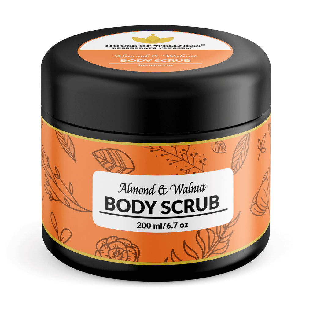Almond & Walnut Body Scrub