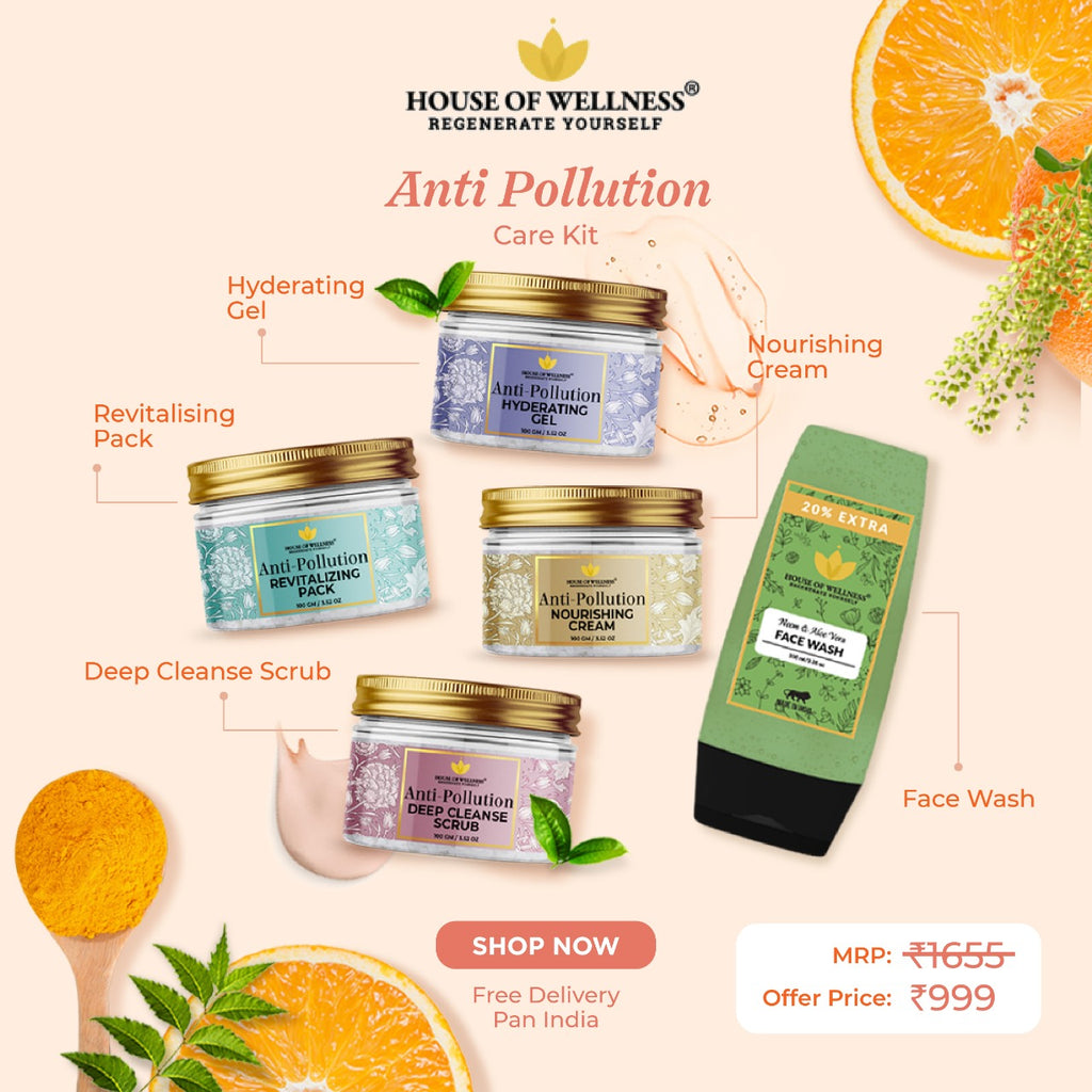 Anti Pollution Kit - Set of 5 Products