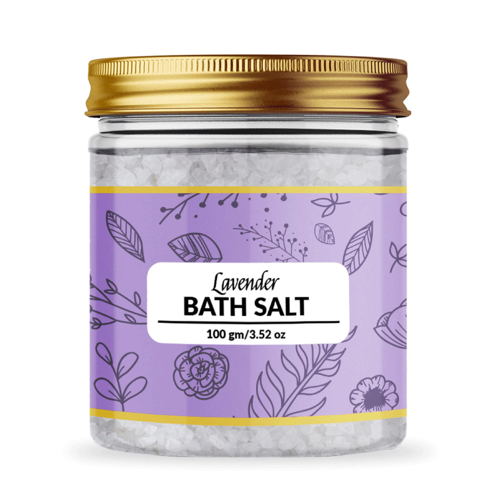 Lavender Bath Salt - 100 gm