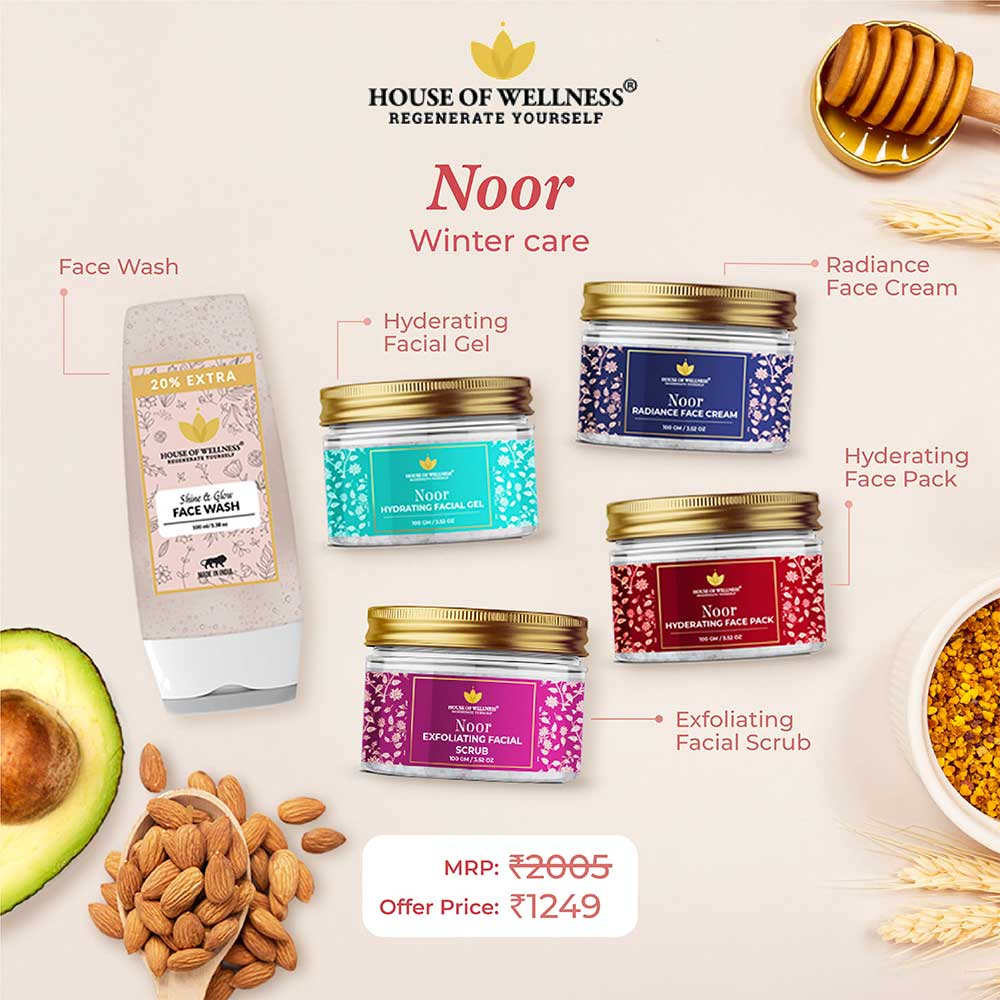 Noor Winter Care Kit - Set of 5 Products
