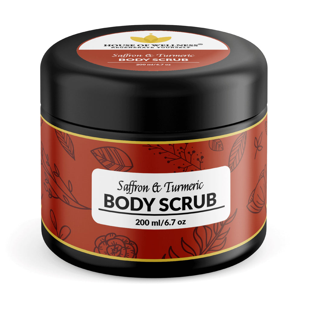 Saffron And Turmeric Body Scrub - 200ml