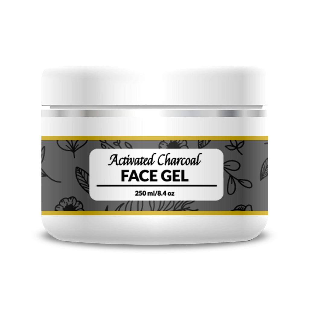 Activated Charcoal Face Gel - 250 ml