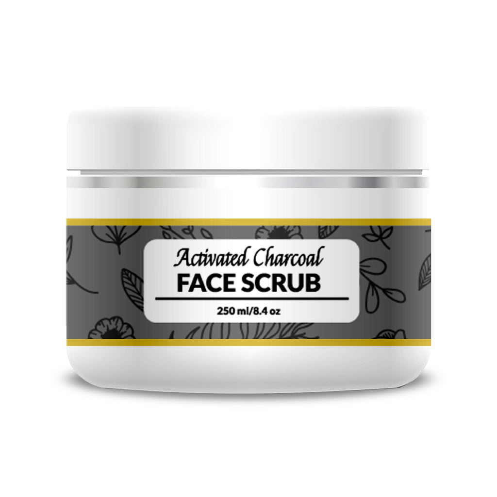 Activated Charcoal Face Scrub - 250 ml