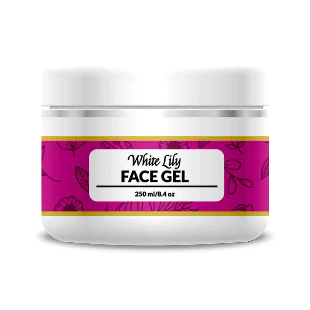 White Lily Face Gel - 250 ml