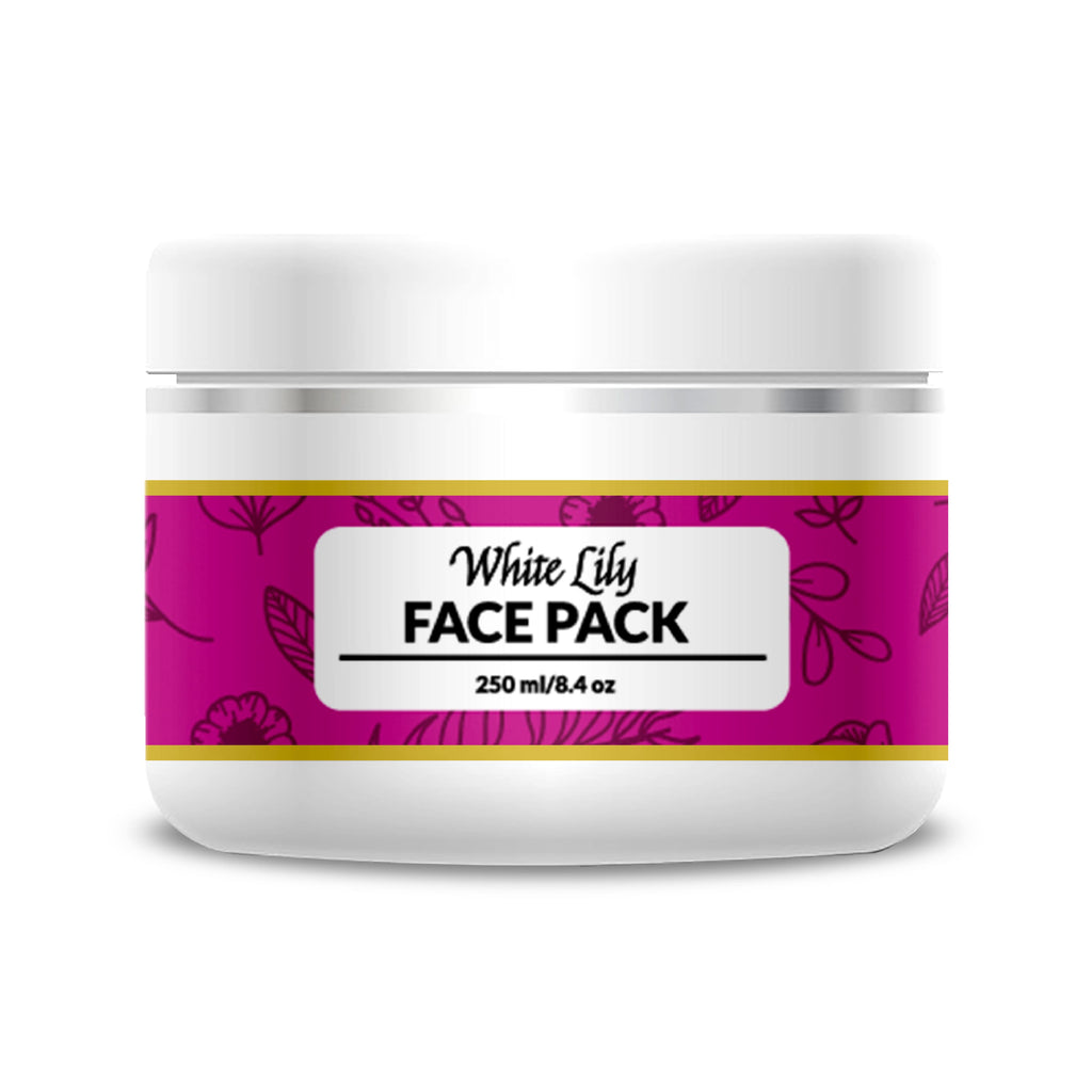 White Lily Face Pack - 250 ml